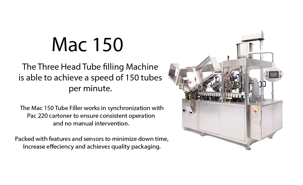 Mac 150 - Tube Filling Machine